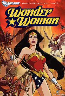"Title: Wonder Woman (2009) Synopsis: After a battle that should have chosen the fate of humanity, the Queen of the Amazons locks up Ares, the God of War. Secluded on their hidden island home, Themyscira, the Amazons live peacefully until Ares escapes. Diana, the Queen's daughter, is dispatched to help the rest of the world fight the godlike threat looming over them. Why you should like it: Wonder Woman is an important character in DC Comics, one of the Trinity, the three most important characters in DC Comics that also include Superman and Batman. If you're skeptical because you don't think she'll be portrayed well (past versions of the character have suffered at the hands of sexist writers), you can rest easy. She very thoroughly kicks ass whenever she gets in a fight, with or without assistance. (Rumor has it that this movie used to be rated ""R"", but they toned it down to be more PG-13 suitable. So there's that.) Availability: DVD, Digital Download. (Possible blu-ray?)"