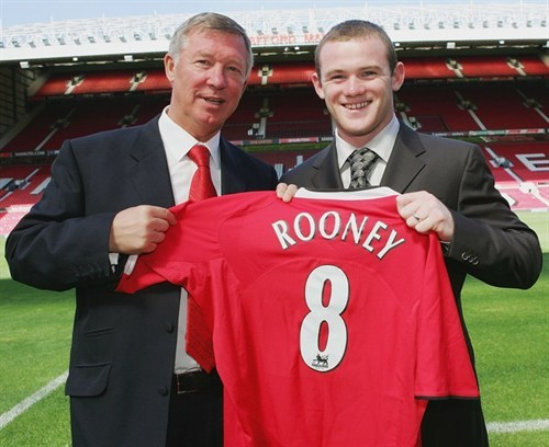 Wayne Rooney Manchester United, Temporada 2004/2005.