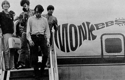 psychojello:  The Monkees had their own plane during the 1967 US Tour.