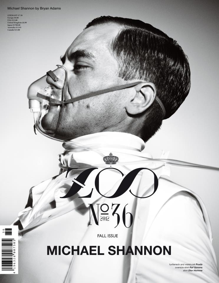 Michael Shannon - Zoo Magazine #36 by Bryan Adams, Fall/Winter 2012-13