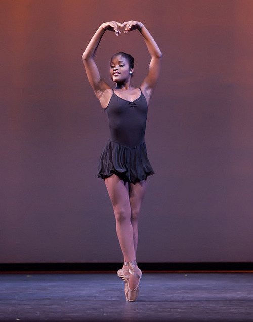 blackcontemporaryart:  Ballerina from the Dance Theatre of Harlem