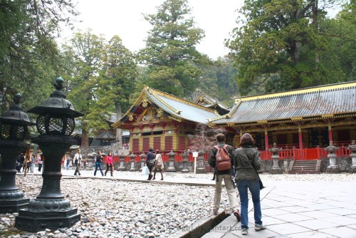 The Courtyard at Nikko Toshogu Shrine by =s-girl