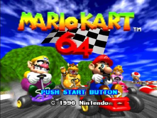 C'mon! Are you really gonna miss me playing MARIO KART 64?!?!?!?  CLICK HERE TO WATCH!