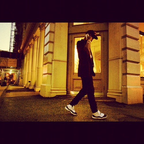 SoHo dweller #CHA$E …#cheersclub #kicksofthenight #concordWave  (Taken with Instagram)