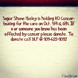 Pick up the phone and donate. Every dollar counts. Let's get rid of this horrible disease! (Taken with Instagram)