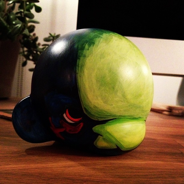 #Progress #munny #acrylic  (Taken with Instagram at HAUS)