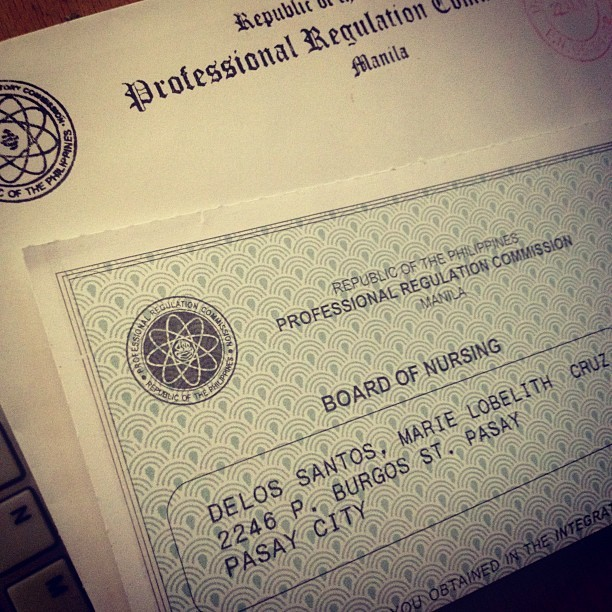 Got my score from the PRC (Taken with Instagram)