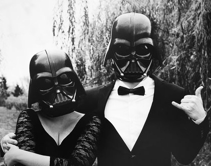 Babe, join me to the dark force …