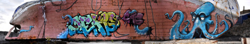gougeone:  Squid attack and Jeks work Gouge One | Jeks Stockholm Sweden