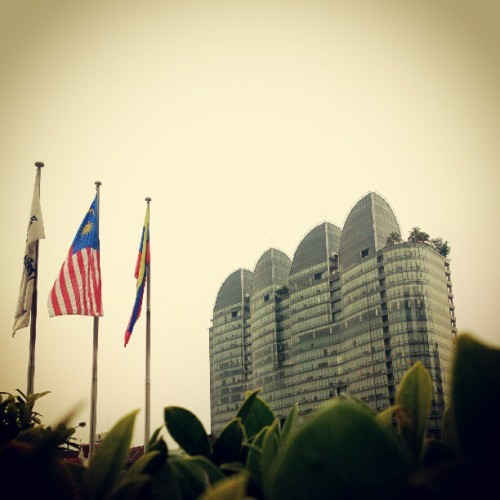 The leaf #building #architecture #instagood #igers #igdaily #kualalumpur #kl  (Taken with Instagram)