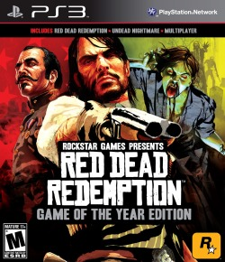 Title: Red Dead Redemption (2010) Synopsis: When John Marston's family is kidnapped by government agents, he quickly realizes he'll have to track and take down his former gang to get them back. Why you should like it: It's just like a classic western film: the dirty, violent antics of the wild west (or Hollywood's depiction of it), a cast of diverse and colorful characters, and a brutal ending that'll leave you speechless. The music, locations, and the overall experience are some of the greatest I've come to know from a video game. Availability: PS3, Xbox 360 (Disc/download). GOTY edition available.