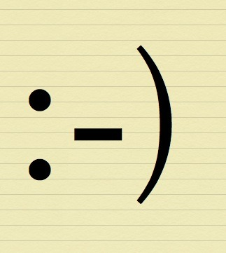 Happy 30th birthday to the smiley face emoticon! It was created in 1982 by Scott Fahlman. :-)