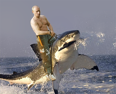 I have no idea who made this, but it's beautiful. Oh Putin.
