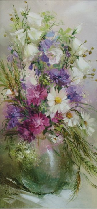 by Anna Homchik Ukrainian artist painter