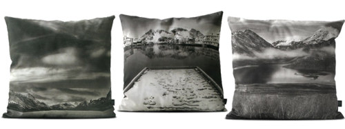 On my wishlist! Norway pillows by Nicklas Blom Source: Nordic Design