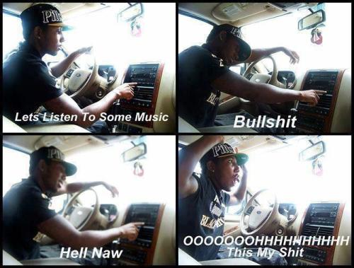 Haha THIS IS MY SHITT I swear I do this everytime I get in the car :)