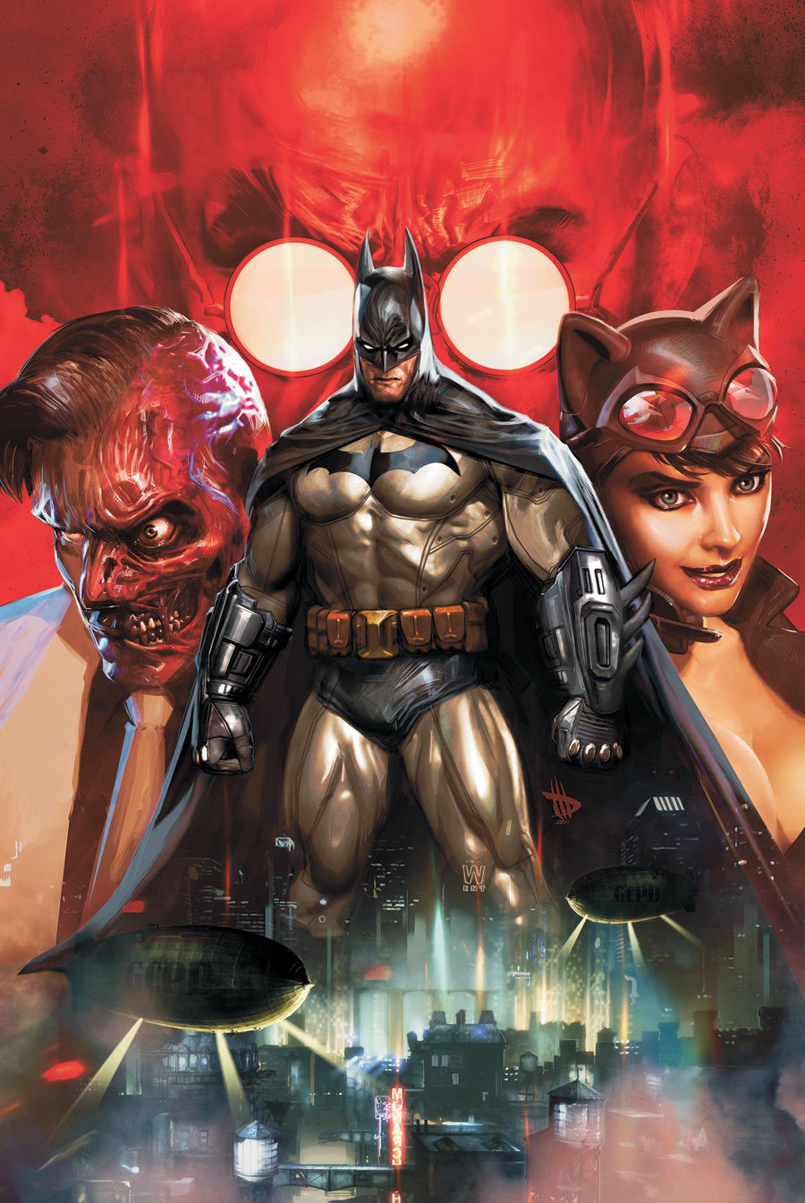 BATMAN: ARKHAM UNHINGED by Dave Wilkins