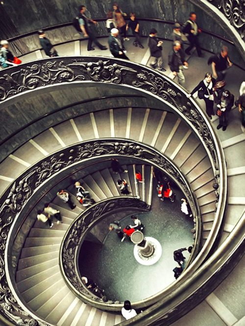 tassels:  Vatican Museum, Italy Photo by Alex Cican