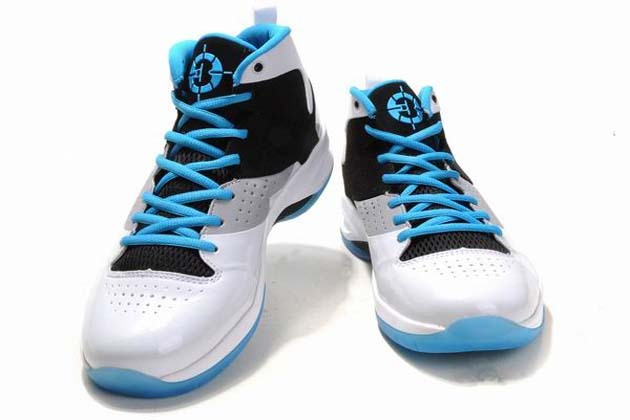 Air Jordan Fly Wade 1 Basketball Shoes White Black Blue