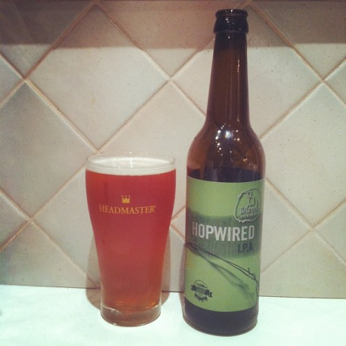 @ifiwerelego you've inspired me #beer #8wired #hopwired #ipa (Taken with Instagram)