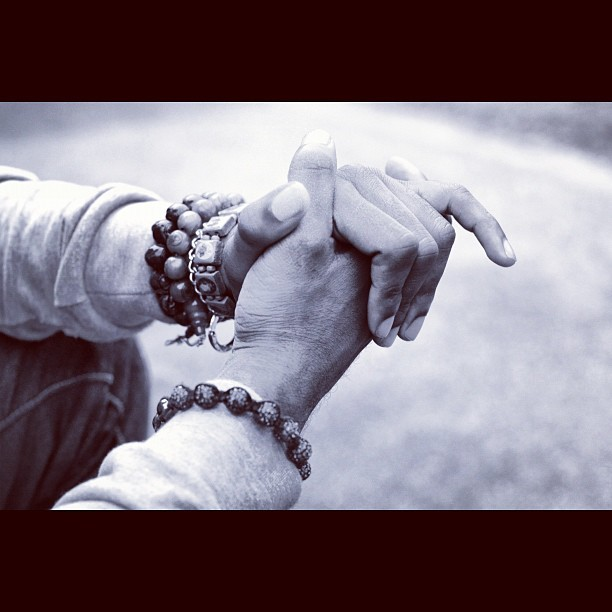 Just s photograph of my hands & bracelets by @rhysentlycorbetto. #photograph #photography #photoshoot #bracelets #stilllife #portrait #fashion #beads #buddha #buddhistbeads #shamballah #buddhist #hands #handcuff #chain #black #blackandwhite #bw #bandw #white #photoshop #sleeves (Taken with Instagram)