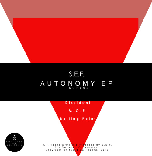 Out November 2012 on Switched On Records
