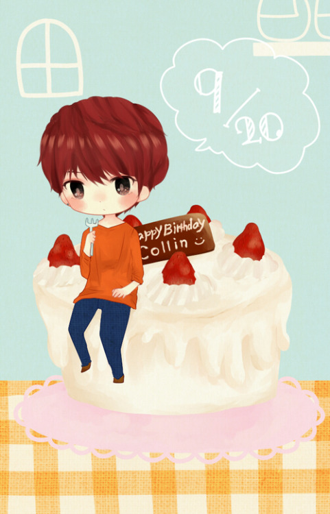 ebipieace0v0:  Happy Birthday ♡ Collin ^^