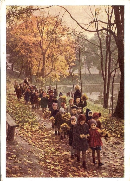 sovietpostcards:  Photo by A. Stanovov, 1963