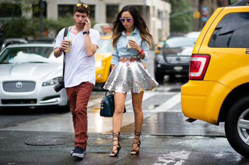 (via Song of Style: New York Fashion Week: Wesley Mason and I)