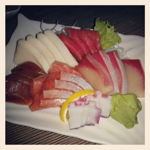 Sashimi!! (Taken with Instagram)