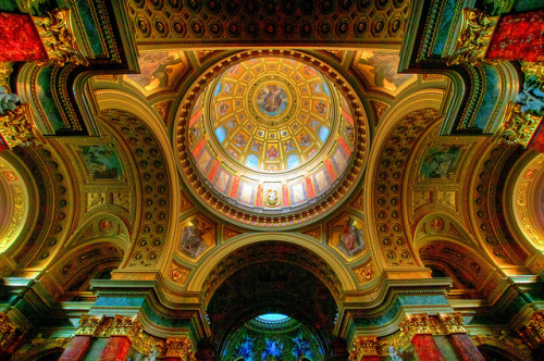 Saint Stephen's Basilica Ceiling on Flickr.Basilica of Saint Stephen, Budapest, Hungary