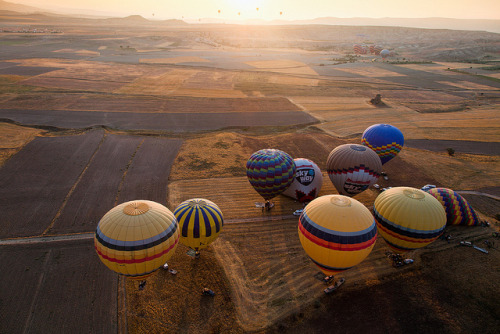 Cappadocian Flight by John & Tina Reid on Flickr.
