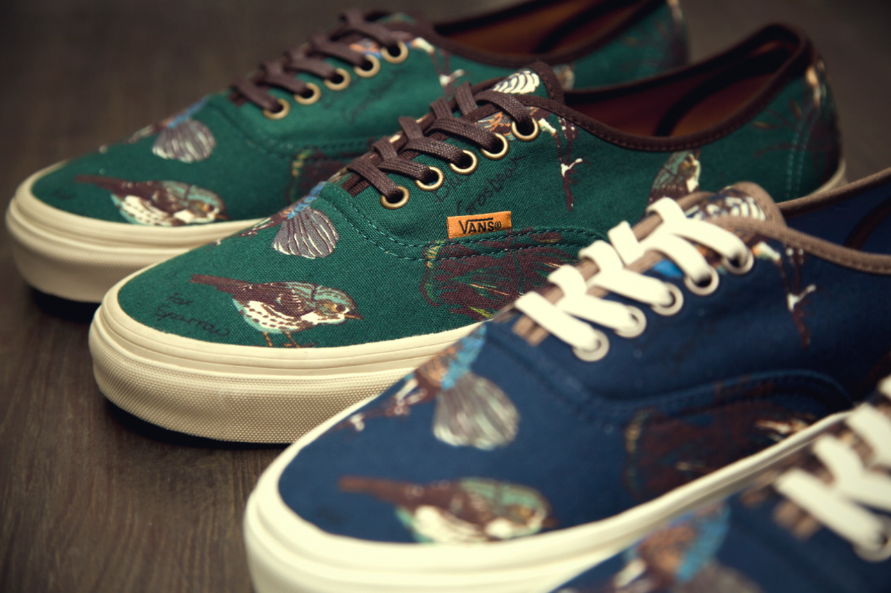 "theclassyissue:  Vans California 2012 Fall/Winter ""Birds"" Authentic CA Pack"
