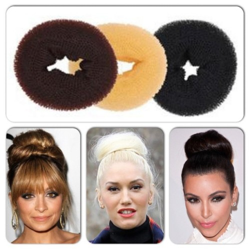 Celeb style secret! Bun Enhancer only $9.95 www.onehoneyboutique.com #bun #celeb #hairdonut #style #fashion #hairbun #kimkardashian #nicolerichie #gwenstefani (Taken with Instagram)