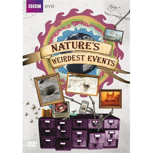 Some of my illustrations featuring on (and in) a recent BBC DVD release for 'Nature's Weirdest Events'.  Working on series 2 now!