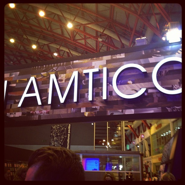 Tweetup at the Amtico booth here at #100design #blogtourldn  (Taken with Instagram)