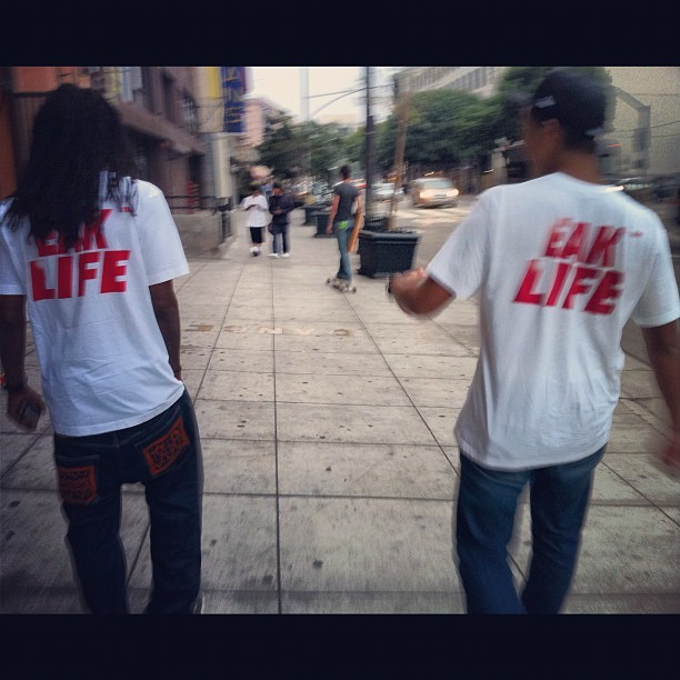 DTLA with @sk8oh #tbt #eaklife #push #losangeles #love #toolivecrew #swaggy #throwbackthursday #life  (Taken with Instagram)