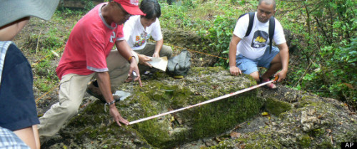 ellobofilipino:  iwriteasiwrite:   Archaeologists have unearthed remnants of what they believe is a 1,000-year-old village on a jungle-covered mountaintop in the Philippines with limestone coffins of a type never before found in this Southeast Asian nation, officials said Thursday…. The discovery of the rectangular tombs, which were carved into limestone outcrops jutting from the forest ground, is important because it is the first indication that Filipinos at that time practiced a more advanced burial ritual than previously thought and that they used metal tools to carve the coffins.  - Philippine Tomb Discovery At 1,000-Year-Old Village Show Unexpected Advances  This is some heady archaeological stuff. I mean, just absolutely amazing. I hope this gets a lot of play in our media, this needs to be prominently touted. Discoveries like this basically rewrite what we understand about our archipelagic history. They are important in uncovering who we are and where we came from. The fact that there were hitherto unknown techniques in use is astonishing. Looking forward to the published study of the find. The exciting part is, there is much more to be find throughout the country. We are an archaeological treasure trove, we just need the institutional support to explore. The sad part of the story is the mention that most of our discovered archaeological sites are being destroyed by grave robbers and looters. These sites form an integral part of our national patrimony, they belong to every Filipino and help deepen our understanding of our heritage. And it's just fucking cool.  Whoah! All the Philippine history learned through the years will have to be unlearned and updated. I agree, this will radically change our understanding of our past, particularly the pre-Spanish period. This reminds me of a long discussion back then on what parts of the Philippines might have been before the Spanish expeditions came. Sadly though, I cannot seem to find those exchanges in my archives anymore. Anyway, like what we agreed on, historical records from our neighboring countries might reinforce knowledge derived from digs like this. But, before the research comes the funding… I wonder if there are Congressmen or Senators willing to spend on Philippine history…
