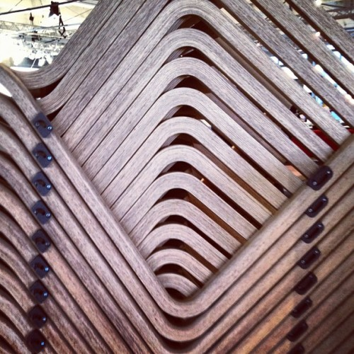 #stacking chair by #simon pengelly at #designjunction  (Taken with Instagram)