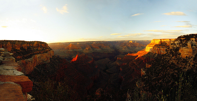 Grand Canyon sunset on Flickr.