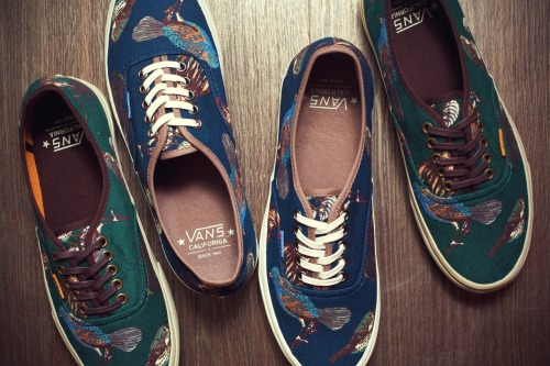 Vans California 2012 fall/winter Birds authentic CA Pack.