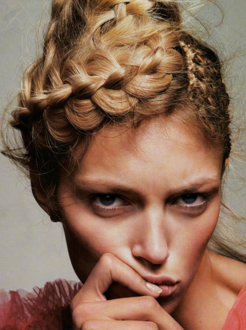 Anja Rubik (Poland) in Vogue Paris March 2010
