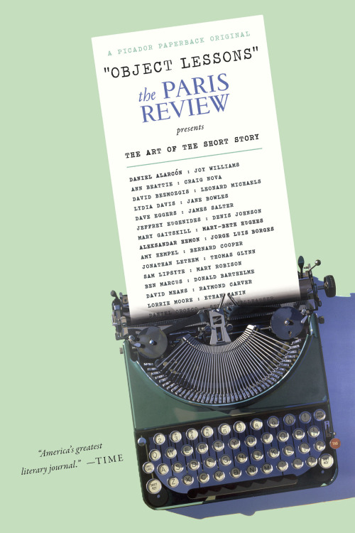 "Object Lessons: The Paris Review Presents the Art of the Short Story ""[is] much more idiosyncratic, intriguing, and enlightening than a generic Greatest Hits list, or another how-to book on the craft of short story writing. It also glitters with gem-like aphorisms and insights,"" says Bill Morris in his interview with Paris Review deputy editor Sadie Stein.  In the interview, Sadie explains why she and Lorin Stein (Paris Review editor and of no relation) chose to compile a collection of short stories from the magazine's past issues (with introductions from contemporary authors):  One thing that interests (Lorin Stein) and all of us at the Review is this conversation between being relevant while drawing on the richness of our archive.  … And what The Paris Review hopes Object Lessons will accomplish:  We hope it will remind people how pleasurable reading short stories can be. We hope it will introduce them to some writers they weren't familiar with. I think you can learn a lot about writing from it, but I hope it's pleasurable first and foremost.  You can read the interview in full at The Millions. You can pre-order Object Lessons from these outlets:Barnes & Noble, Amazon, IndieBound, BooksaMillion, and Powell's."