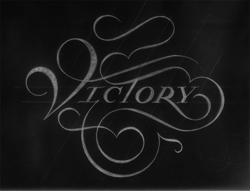distinguishedcompany:  typeverything: Victory by Drew Melton.
