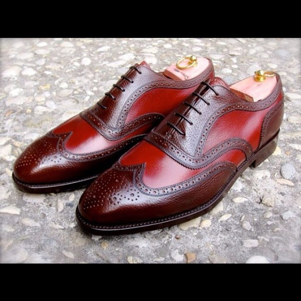 Vicious details… #mensshoes #oxfordwingtipbrogues (Taken with Instagram)