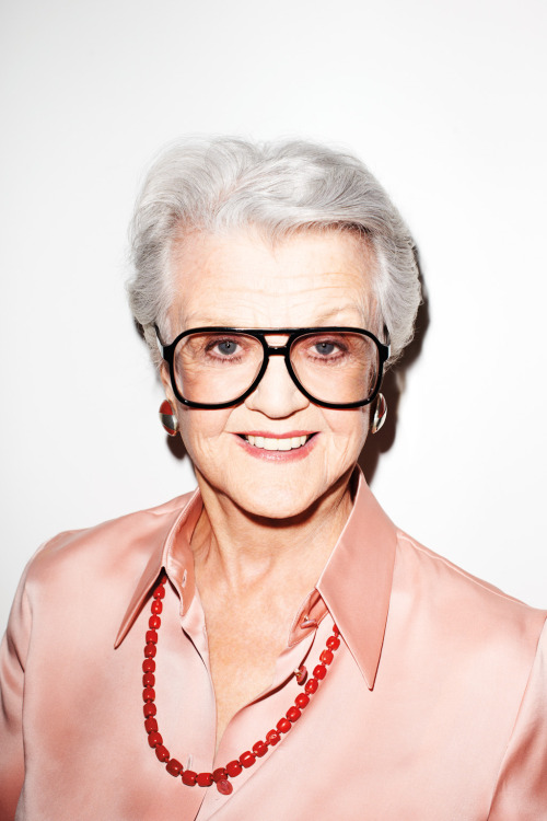 Angela Lansbury as Me shot for the gentlewoman… out now!