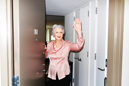 Angela Lansbury at home #1
