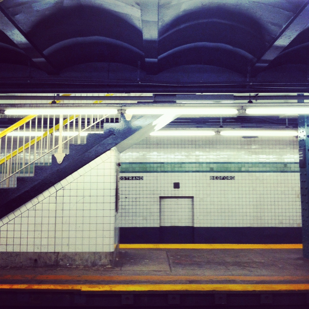 Testing out a new series on IPhone / Instagram, Empty Platforms and Subway Stations. Playing with the idea of just continuing it on iPhone…
