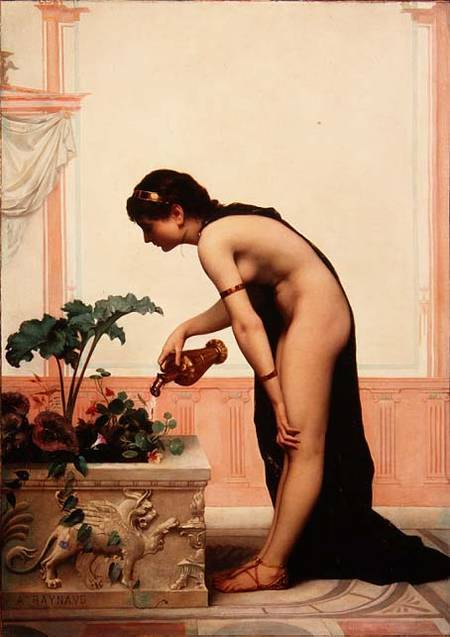 rosenfae:  Watering the Garden Auguste Raynaud
