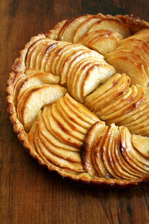 striped-cherry:  kiyoaki:  (vía French Apple Tart & Cinnamon Snails | alexandra's kitchen)  looks so damn delicious!